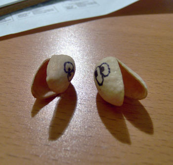 Pair of nuts