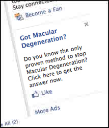 Font is too small if you have macular degeneration