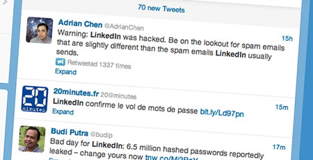 Funny tweets about LinkedIn